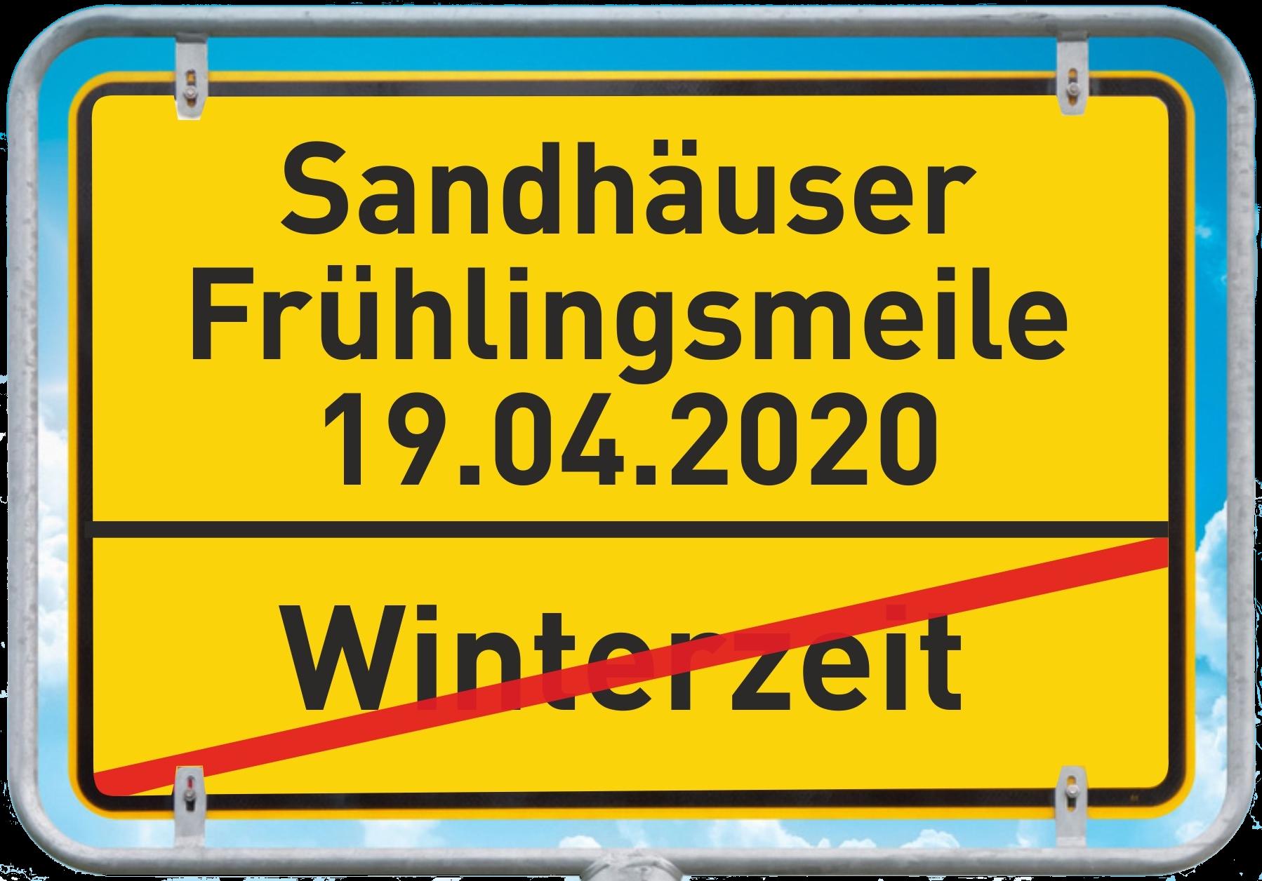 Sandhäuser Frühlingsmeile 2020